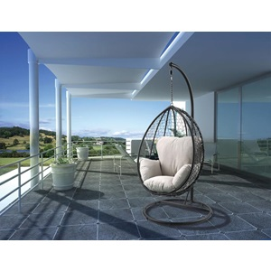 45030 SIMONA BLACK HANGING CHAIR