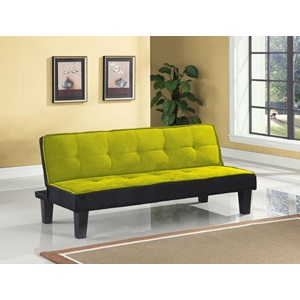 57039 GREEN ADJUSTABLE SOFA