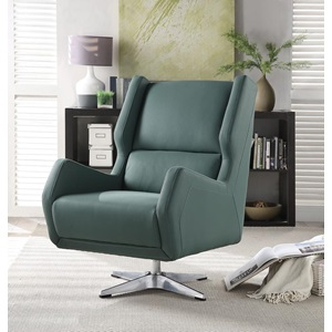 59737 GREEN ACCENT CHAIR