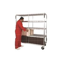 New Age Industrial Heavy Duty 132 Insulated Tray Drying Rack