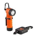 Streamlight PolyTac 90 Small Right Angle Polymer Flashlight with Gear Keeper - Orange