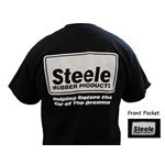 Steele Rubber Products Reverse Logo T-Shirt