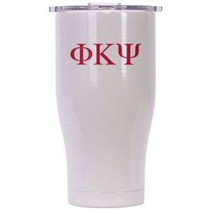 Phi Kappa Psi Pearl/Clear Chaser 27oz