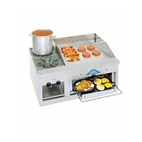 Comstock FHP36-36B Griddle/Overfired Broiler-Cheesemelter