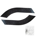 Front Fender Splash Panel Seals