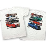 Mustang Race Bred/True Horses T-Shirt (3X-Large)