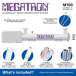 Megatron Manual M150 - Included Accessories