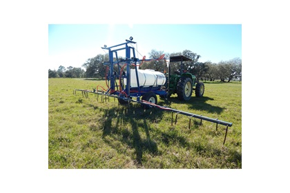 500 Gallon Tomato & Strawberry Hoop Boom Sprayer