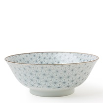 "Asanoha Colors 7.25"" Bowl - Gray"
