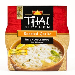 Rice Noodle Bowl, Roasted Garlic - 2.4oz (Box of 6)