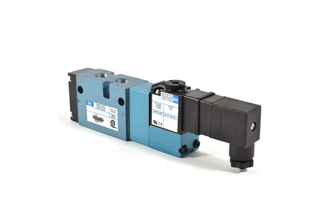 4-Way Solenoid Piloted Spool Valve | MAC Valves 800 Series