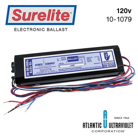 Ballast: 120v for Mighty Pure® MP36 and SANITRON S37