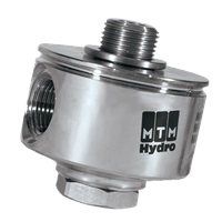 MTM Hydro Replacement 90° Swivel 1/4 Male X 3/8 Female