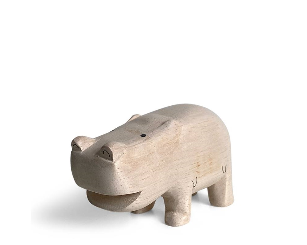 T-Lab Wooden Animal - Hippo