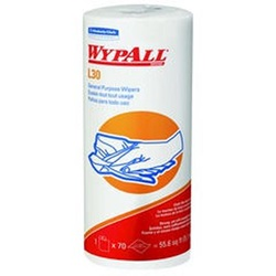 05843 KC WYPALL L30 WHITE WIPERS, 11 X 10.4,