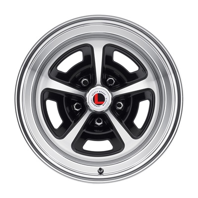 16 x 8 Magnum Alloy Wheel, 5 on 4.5 BP, 4.50 BS, Gloss Black / Machined