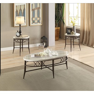 83100 3PC PK COFFEE TABLE SET
