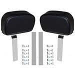 Standard Headrests, (Black Pair)