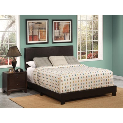 25750Q ESPRESSO QUEEN BED