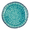 "Leaf & Flower 4.75"" Plate Set"