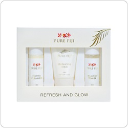 Pure Fiji Refresh & Glow Facial Collection