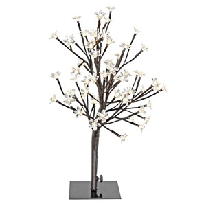 "20""H LED Cherry Blossom Tree Accent Lamp"