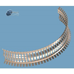 Contact Ring, RF, Coil To Flange