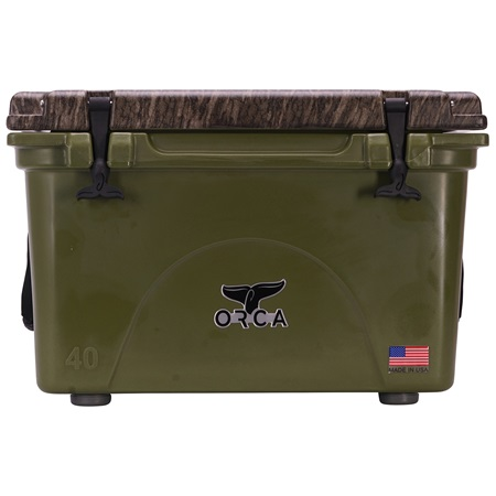 Mossy Oak Bottomland Camo Lid Green 40 Quart
