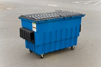 2 Cubic Yard Front End Load Plastic Containers