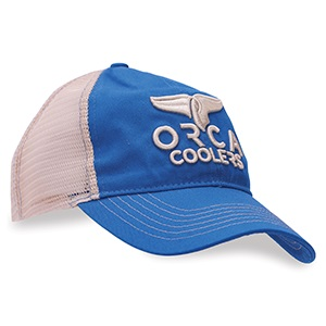 Blue Low Profile Trucker Hat