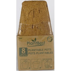 Biodegradable Square Coconut Coir Pots