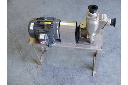 "2"" Chemical Pump, Motor, & Stand Kits 