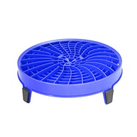 DIRT LOCK BUCKET INSERT- BLUE