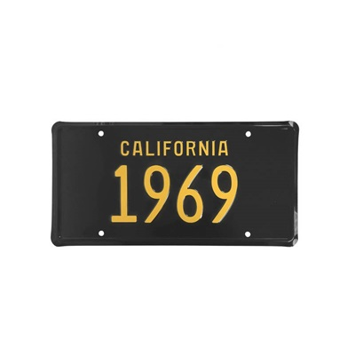1969 CALIFORNIA LINCENSE PLATE