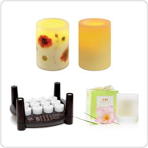 Spa Candles & Ambience
