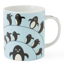 Penguin 8 Oz. Mug - Blue