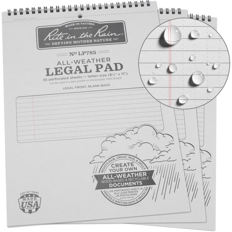 Top Spiral Legal Pad