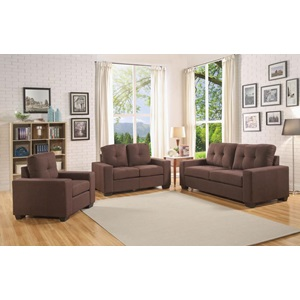 52936 CHOCOLATE LOVESEAT