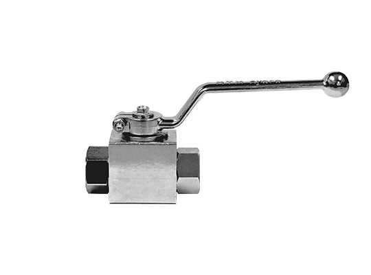 "MTM Hydro 3/8"" Plated Steel Ball Valve"