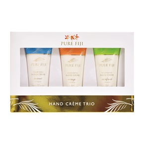 Pure Fiji Hand Crème Trio Collection