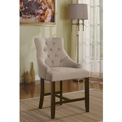59195 CREAM COUNTER HEIGHT CHAIR