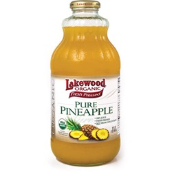 Pineapple Juice - Organic (Lakewood) - 32oz