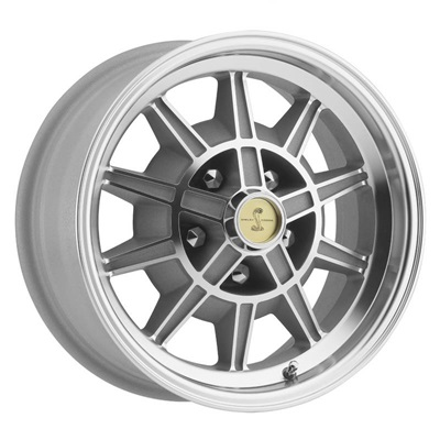 15 x 7 GT7 Alloy Wheel, 5 on 4.5 BP, 4.25 BS, Machined / Clear Coat