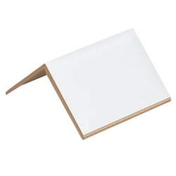 "2 X 2 X 3"" .120 WHITE STRAPPING PROTECTORS, 1200/CS   SP223120"