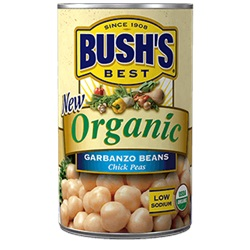 Bush's Organic Garbanzo Beans, 15oz