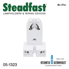 Lampholder: Medium Bi-Pin For 15/20/30/40 Watt UV Lamps