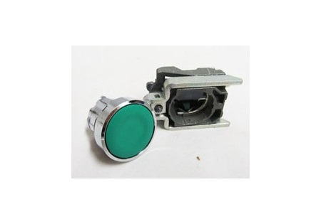 Green Push Button Switch 22mm 110-220v N.O. Port