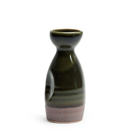 Oribe Green 5 Oz. Sake Bottle