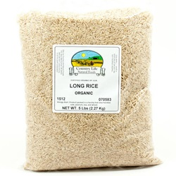 Rice, Long - Organic (5lb Bag)