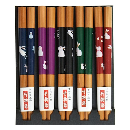 Rabbits Chopsticks Set